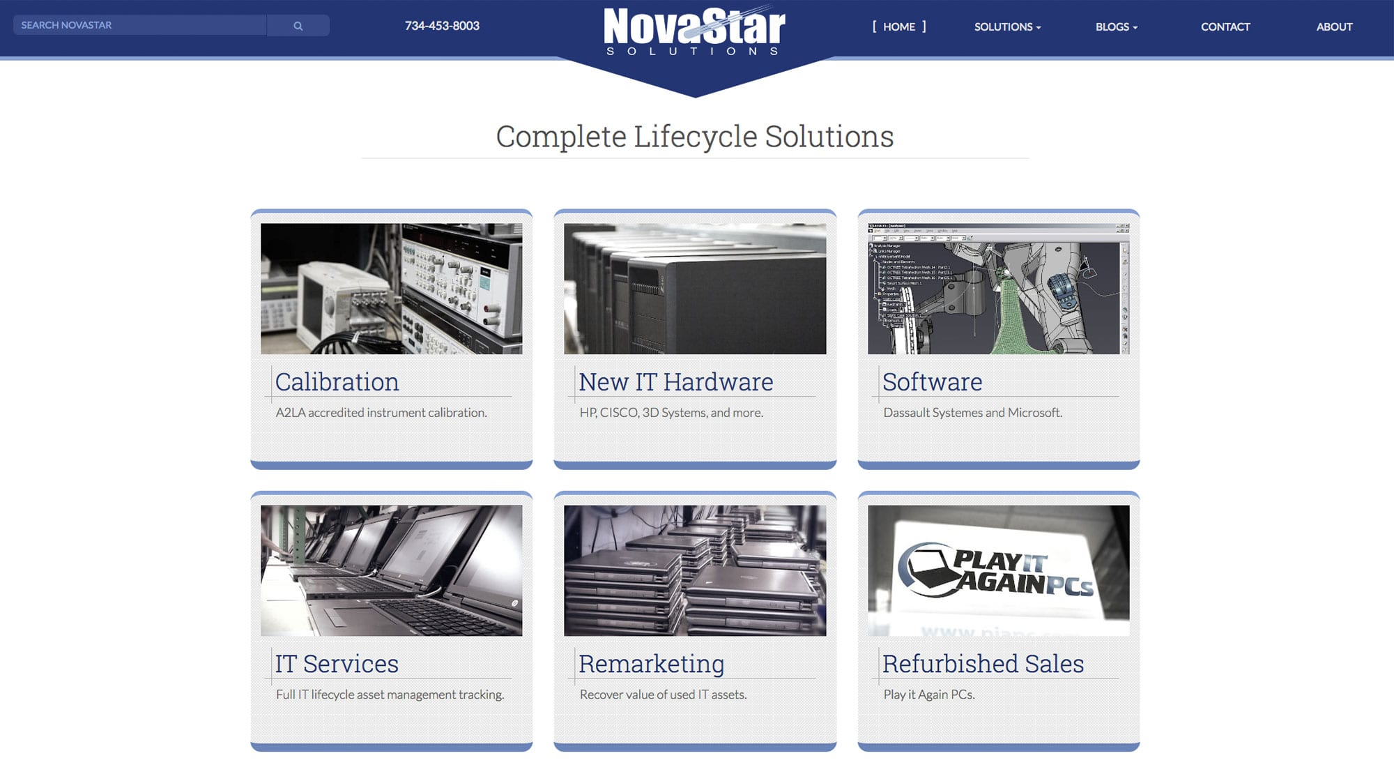 Pixelvine Website Designer for NovaStar in Novi, MI
