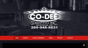 Co-Dee Stamping Hastings MI
