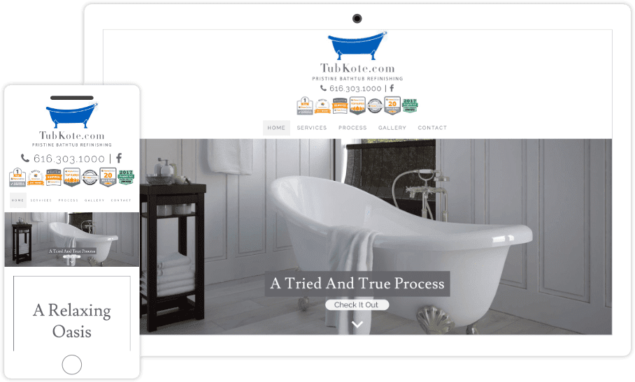 Website Design For West Michigan Company Pixelvine Creative
