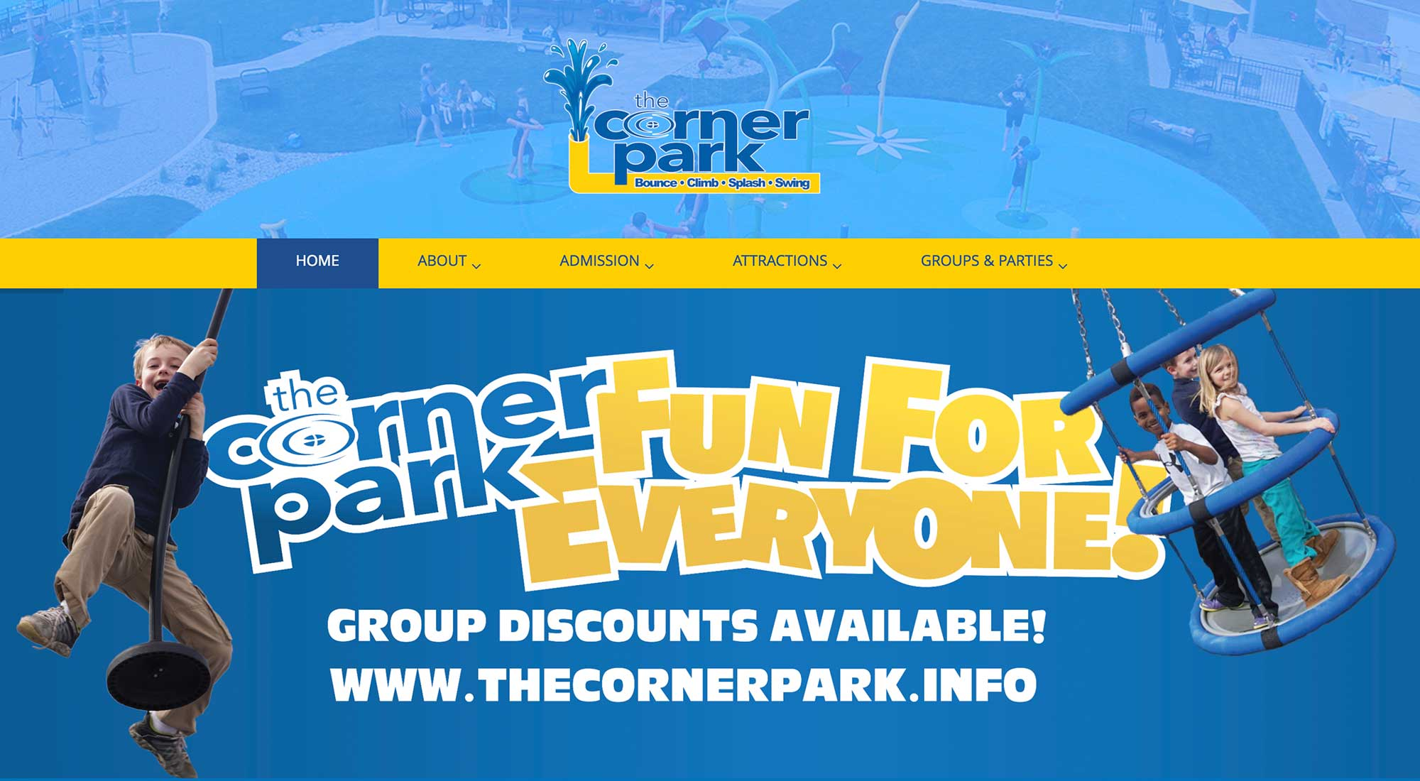 Corner Park in Adrian MI