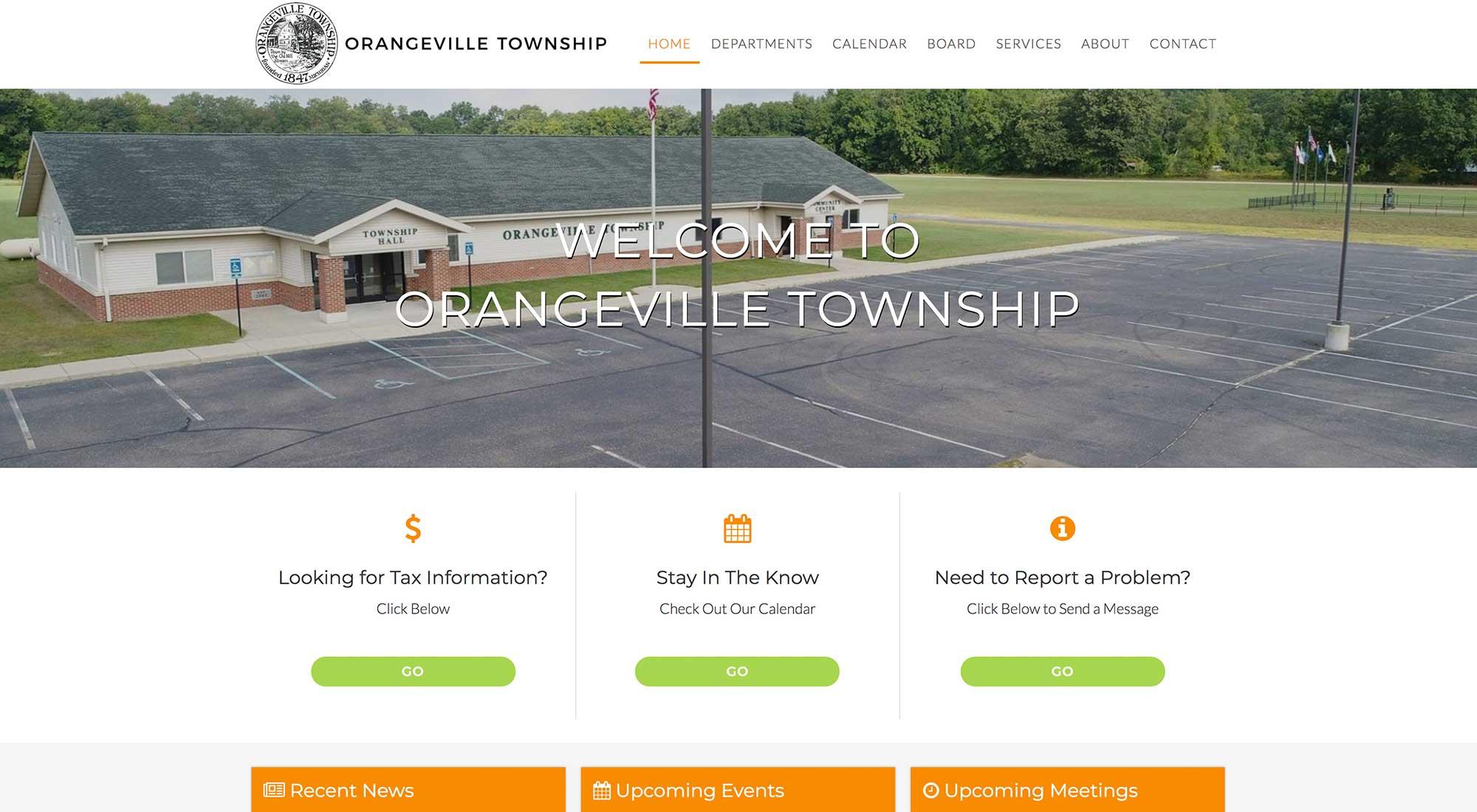 orangeville twp