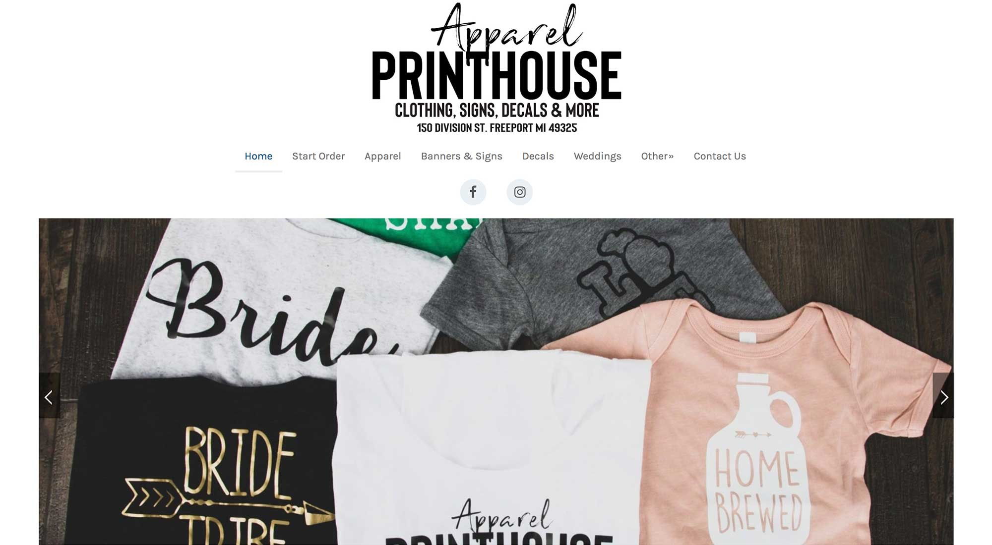 Apparel-Printhouse Freeport MI