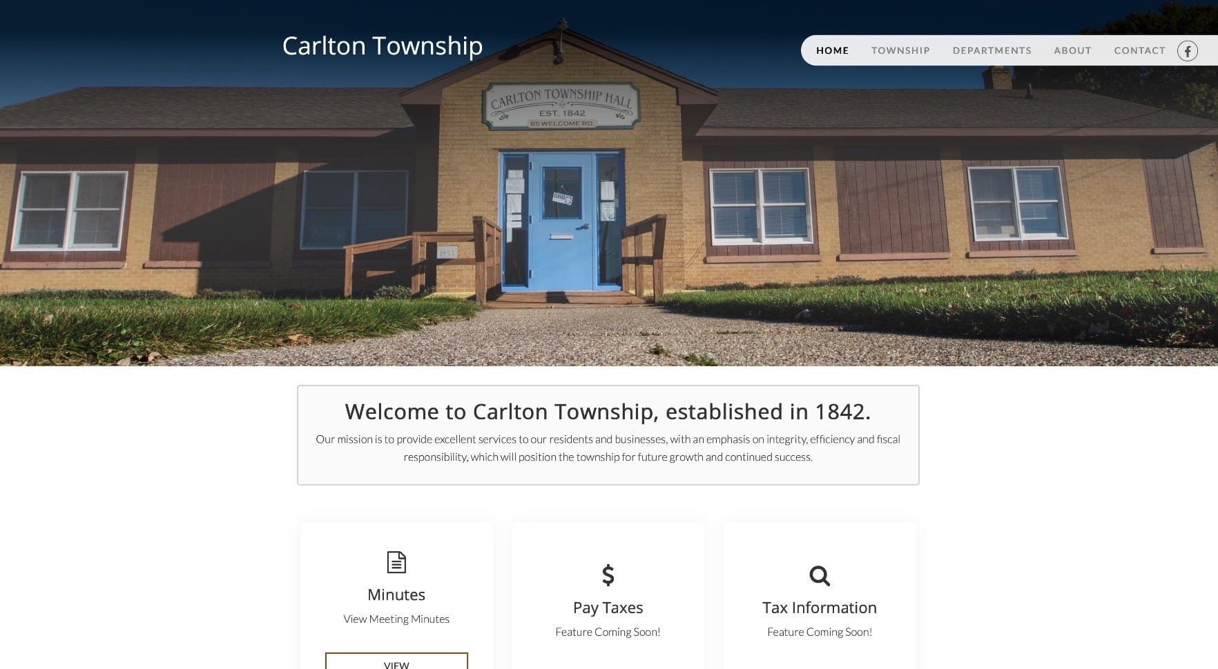 Carlton Township in Hastings MI