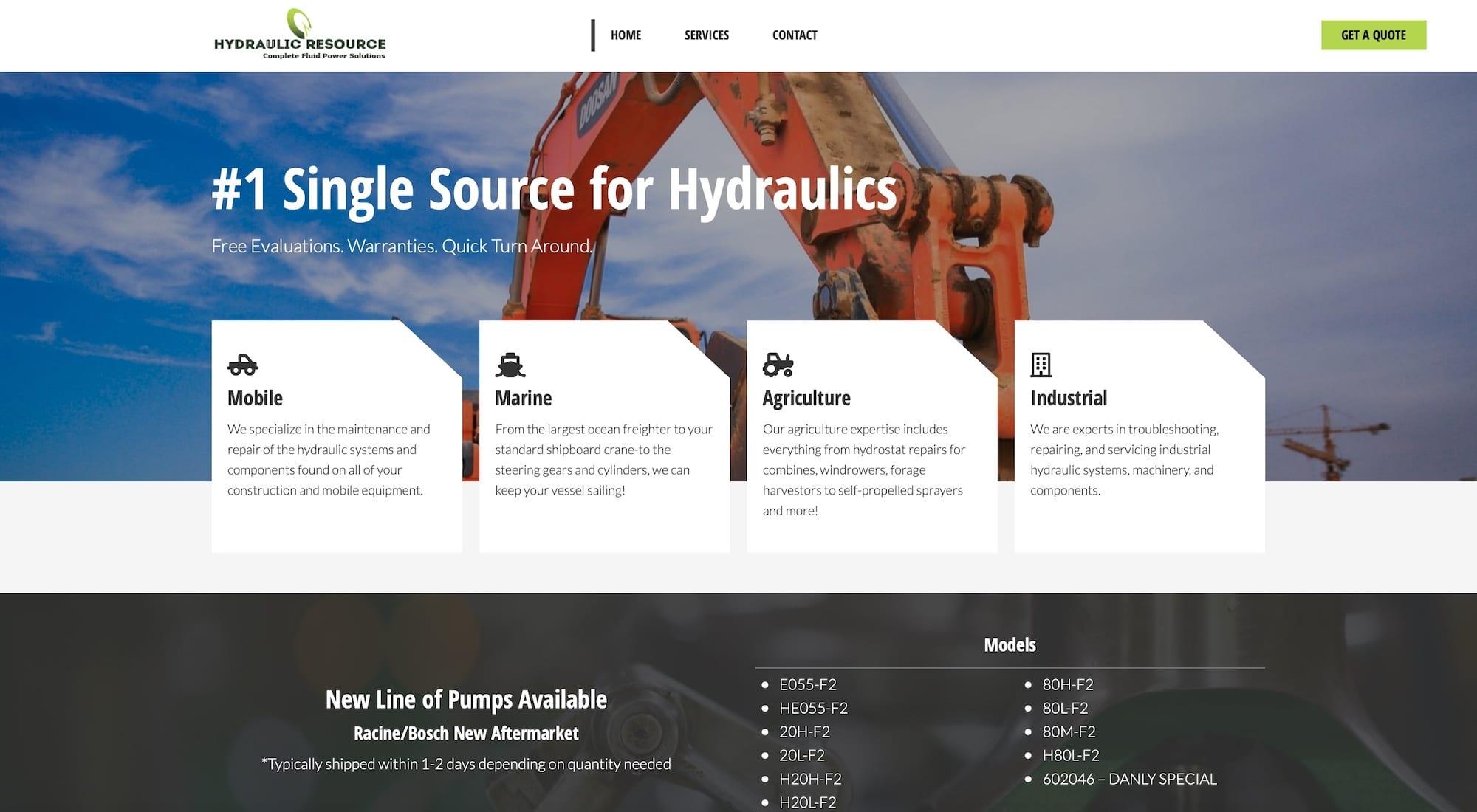 hydraulic-featured